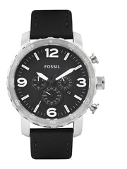 Fossil Men Black Dial Chronograph Watch JR1436I