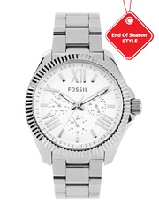 Fossil Men White Dial Watch AM4568I