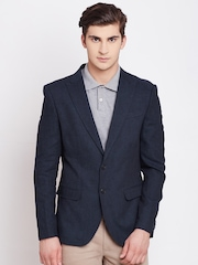 Blackberrys Navy Single-Breasted Casual Blazer