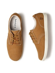 Timberland Men Tan Brown Suede Derby Shoes