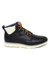 Timberland Men Navy Blue Leather Killington Derby Shoes