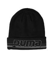 PUMA Unisex Black Beanie