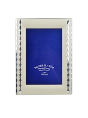 Athome by Nilkamal Silver-Plated Photo Frame