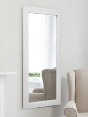 Athome by Nilkamal White Wall Mirror