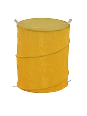 Athome by Nilkamal Yellow Foldable Laundry Bag