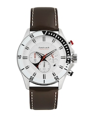 Fastrack Men White Dial Watch ND3072SL01