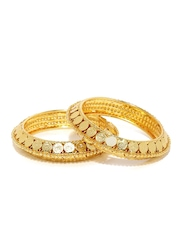 Sukkhi Set of 2 Gold-Plated Bangles