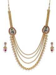 Sukkhi Gold-Plated Beaded Jewellery Set