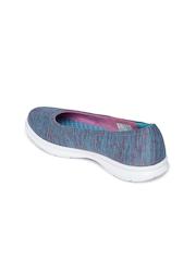 Skechers Women Blue Walking Shoes