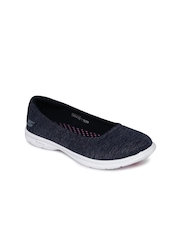 Skechers Women Navy Blue Go Step Walking Shoes