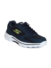 Skechers Men Navy GO Walk 3 Shoes