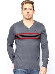 PUMA Grey Long Sleeve Sweater