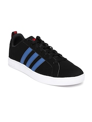 Adidas NEO Men Black Solid Advantage VS Sneakers