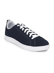 Adidas NEO Men Navy Solid Advantage Clean VS Sneakers