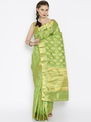 Sudarshan Silks Green Art Silk Traditional Saree