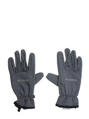 Columbia Men Grey Ascender Softshell Gloves