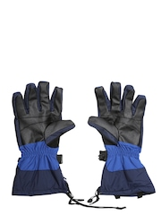 Columbia Men Blue Bugaboo Interchange Gloves