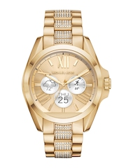 Michael Kors Women Gold-Toned Smart Watch MKT5002