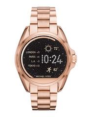 Michael Kors Women Rose Gold-Toned Smart Watch MKT5004