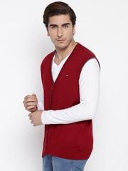 Arrow Sport Red Cardigan