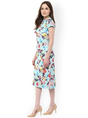 Harpa Multicoloured Floral Print Sheath Dress