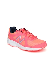 New Balance Women Neon Pink W390CC2 Running Shoes