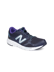 New Balance Women Navy W490CN3 Running Shoes