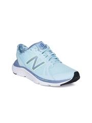 New Balance Women Light Blue W690RG4 Running Shoes
