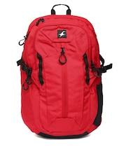 Fastrack Men Red Backpack