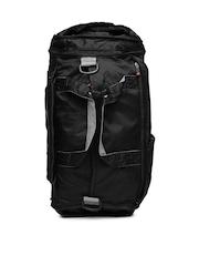 Fastrack Women Black Backpack Cum Duffel Bag