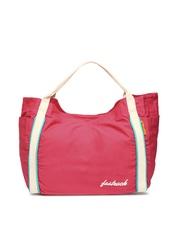 Fastrack Pink Tote Bag