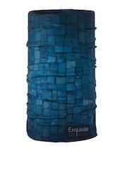 NOISE Unisex Blue Printed Headwear
