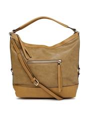 Accessorize Tan Brown Hobo Bag