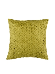 "Onset Green Single 18""x18"" Woven Square Cushion Cover"