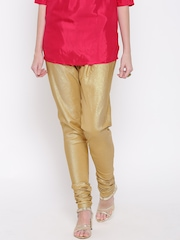 Biba Golden Shimmer Churidar Leggings