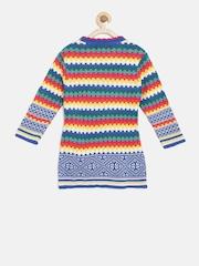 American Eye Girls Multicoloured Patterned Sweater