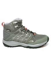 The North Face Women Grey Litewave Explore Hiking Shoes