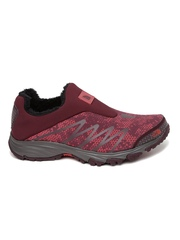 The North Face Women Maroon Venture Memo Trekking Shoes