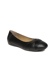 Bata Comfit Women Black Solid Ballerinas