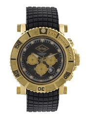 Lee Cooper Men Black Chronograph Dial Watch LC-090710 R1