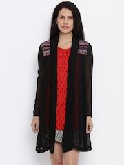 Global Desi Women Red Printed Sheath Dress