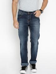 Lee Cooper Men Blue Straight Fit Mid-Rise Jeans