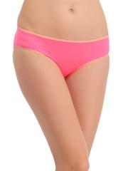 Clovia Pink Bikini Briefs PN0809P22XL