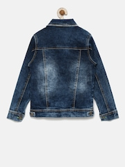 RUFF Boys Blue Washed Denim Jacket