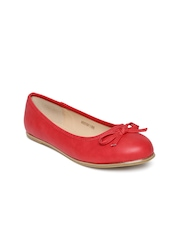 Allen Solly Women Coral Solid Flats