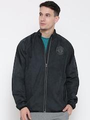 Adidas Charcoal Grey Manchester United F.C. Jacket