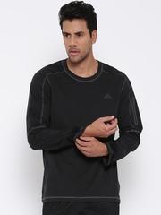 Adidas Charcoal Grey Workout T-shirt