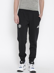 Adidas Black Manchester United FC SWT CO Training Track Pants