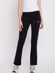 Adidas Black 3S Yoga Track Pants