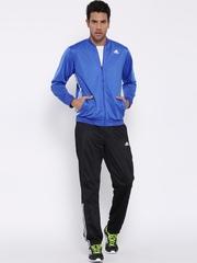 Adidas Blue & Black TS ESS KN Training Tracksuit